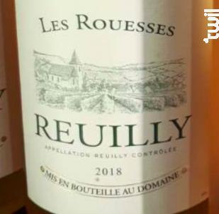 Les Rouesses Reuilly - Domaine des Rouesses - 2018 - Rosé