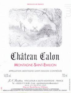 Château Calon - Château Calon - 1983 - Rouge