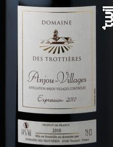 Expression - Domaine des Trottières - 2014 - Rouge