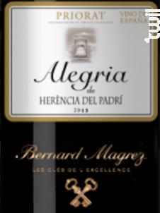 Alegria - Bernard Magrez - 2012 - Rouge