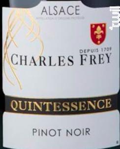 Pinot Noir Quintessence - Maison Charles Frey - 2016 - Rouge
