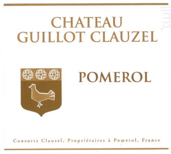 Château Guillot Clauzel - Château Guillot Clauzel - 2016 - Rouge