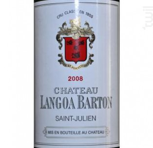 Château Langoa Barton - Château Langoa Barton - 2006 - Rouge
