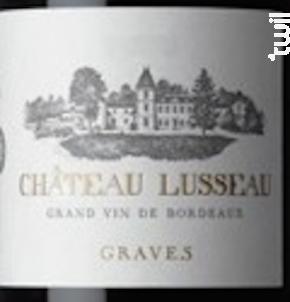 Barrique - Château Lusseau - 2013 - Rouge