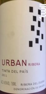 Urban ribera - tinta del pais - O. FOURNIER ESPAGNE - 2014 - Rouge