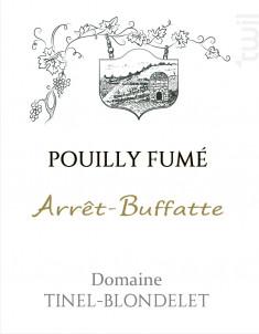 ARRET BUFFATTE - DOMAINE TINEL BLONDELET - 2017 - Blanc