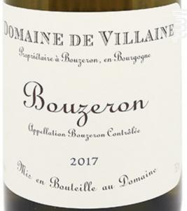 Aligote Bouzeron - Domaine de Villaine - 2018 - Blanc