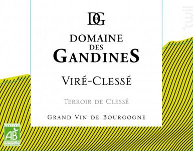 Terroir de Clessé - Domaine des Gandines - 2017 - Blanc