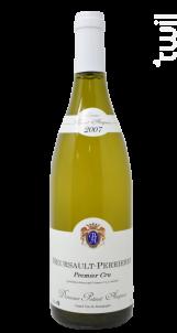 Meursault 1er Crules Perrieres - Domaine Potinet-Ampeau - 2007 - Blanc