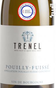 Pouilly-Fuissé - Trenel - 2018 - Blanc