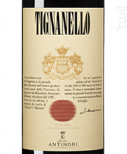 Tignanello - Marchesi Antinori - 2014 - Rouge