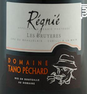 Les Bruyères - Domaine Tano Péchard - 2019 - Rouge