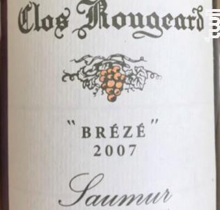 Le Brézé - CLOS ROUGEARD - 2007 - Blanc