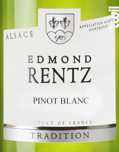 Pinot Blanc - Domaine Edmond Rentz - 2019 - Blanc