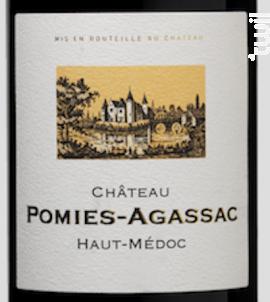 Château Pomiès-Agassac - Château d'Agassac - 1991 - Rouge