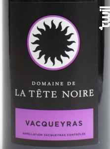 La clapière - Domaine de la Tête Noire - 2016 - Rouge