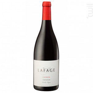 Cayrol - Domaine Lafage - 2016 - Rouge