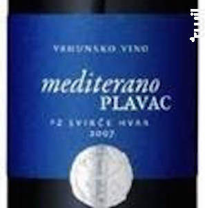 Plavac Mediterano - Badel - 2011 - Rouge