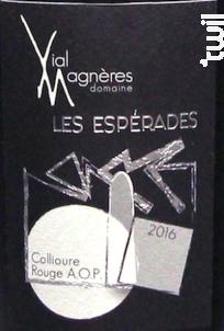 Les Espérades - Domaine Vial Magnères - 2017 - Rouge
