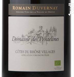 Domaine des Pentelines Côtes-du-Rhône Villages - Romain Duvernay - 2016 - Rouge