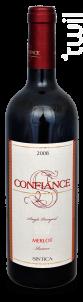 Confiance Merlot - Sintica Winery - 2008 - Rouge