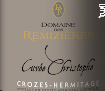 Cuvée Christophe - Domaine des Remizières - 2018 - Blanc