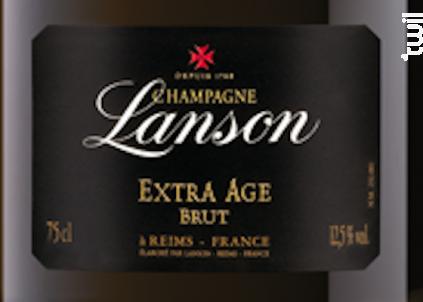 Extra Age - Lanson - Non millésimé - Effervescent
