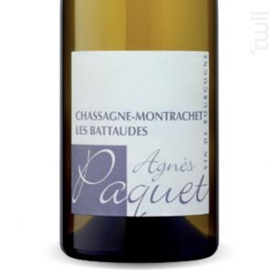 Chassagne-Montrachet Les Battaudes - Domaine Agnès Paquet - 2017 - Blanc