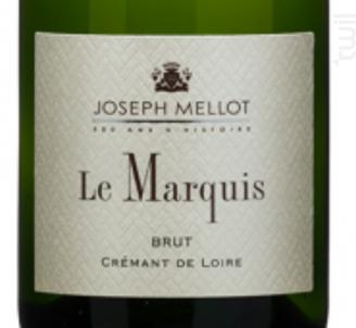 Crémant de Loire Le Marquis - Vignobles Joseph Mellot - Non millésimé - Effervescent