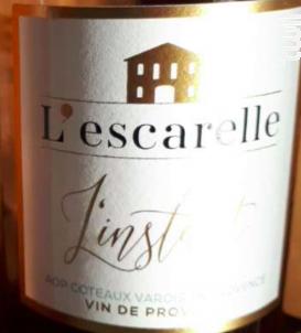 L'Instant - Château de L'Escarelle - 2018 - Rosé