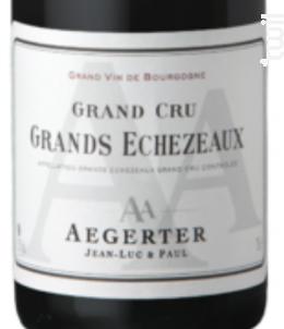 Grand-Echezeaux Grand Cru - Jean Luc et Paul Aegerter - 2016 - Rouge