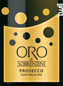 Prosecco ORO Extra Dry BIO - Sorrentini - Non millésimé - Effervescent