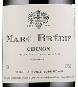 Chinon - Marc Brédif - 2018 - Rouge
