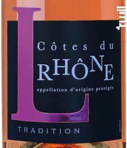 Tradition - Les Vignerons de Tavel & Lirac - 2019 - Rosé