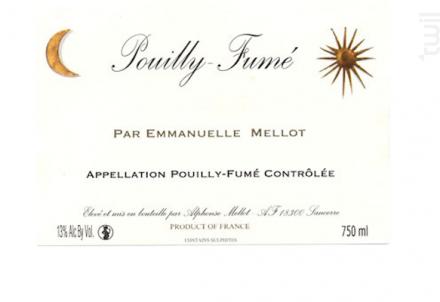 Pouilly-Fumé par Emmanuelle Mellot - Alphonse Mellot - 2018 - Blanc