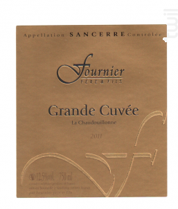 Sancerre La Chaudouillonne - FOURNIER Père & Fils - 2013 - Blanc