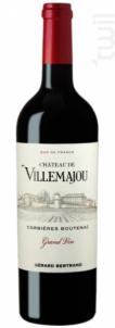 CHATEAU DE VILLEMAJOU GRAND VIN - Maison Gérard Bertrand - Domaine de Villemajou - 2015 - Rouge