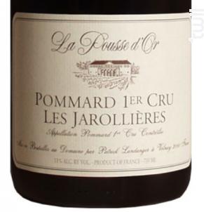 Pommard Premier Cru Les Jarollières - Domaine de la Pousse d'Or - 2016 - Rouge