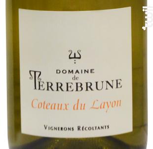 Coteaux du Layon - Domaine de Terrebrune - 2018 - Blanc