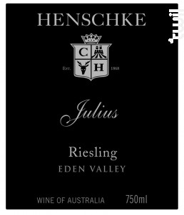 Julius - riesling - HENSCHKE - 2017 - Blanc