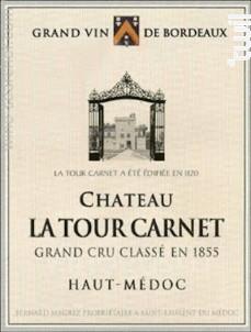 Château La Tour Carnet - Bernard Magrez - Château La Tour Carnet - 2018 - Rouge
