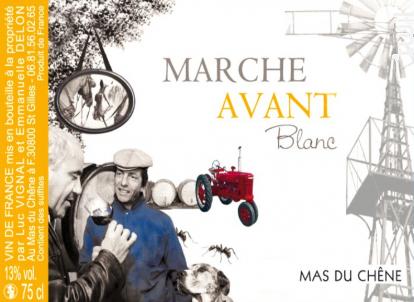 Marche Avant Blanc - Mas du Chêne - 2017 - Blanc