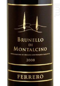 Ferrero - Brunello Di Montalcino - Ferrero - 2014 - Rouge