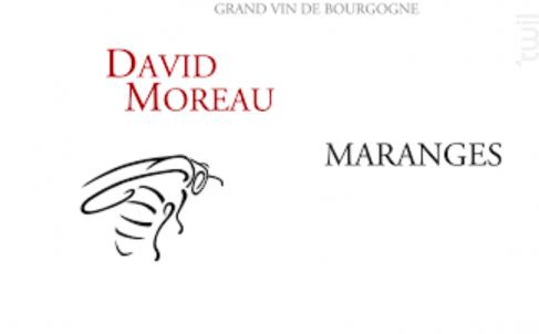 MARANGES - DOMAINE DAVID MOREAU - 2013 - Rouge