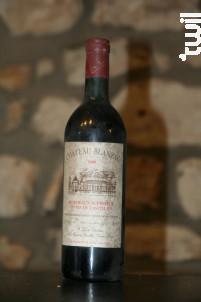 Chateau Blanzac - Château Blanzac - 1986 - Rouge
