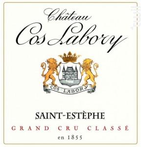 Château Cos Labory - Château Cos Labory - 2018 - Rouge