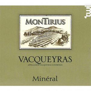 Mineral Montirius - Domaine Montirius - 2019 - Blanc