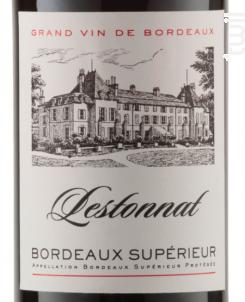 Bordeaux Supérieur - Lestonnat - 2016 - Rouge