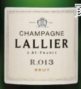 Brut R.013 - Champagne Lallier - Non millésimé - Effervescent