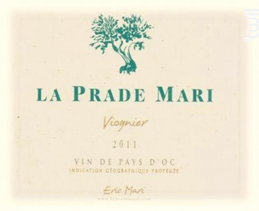 Viognier - Domaine La Prade Mari - 2018 - Blanc